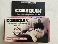 Cosequin for Cats 60 Sprinkle Capsules Joint Health Supplement  exp 06/2022