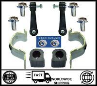 Front Anti Roll Bar Bush Kit + Drop Links FOR VW GOLF MK4