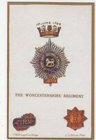 The Worcestershire Regiment, G & P 1660 Postcard, B284