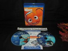 Disney Pixar Finding Nemo (Blu-Ray)  MINT