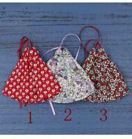 Doll clothes Little Floral Halter dress for blythe doll licca OB24 Dolls
