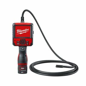 Milwaukee M12ICAV3-201C Cordless Inspection Camera with Battery/Charger