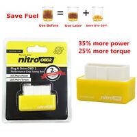 OBD2 OBD Performance Tuning Chip Box For Gas/Petrol Car Vehicles Plug & Drive