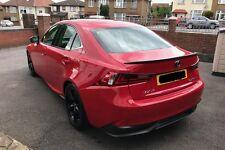 Carbon Rear Trunk Spoiler for Lexus IS250 IS200t IS300h OE Type 2014+