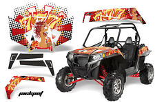 AMR Racing Polaris RZR 900XP Sticker Graphic Kit Decal UTV Parts 11-14 JACKPOT W