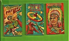 VTG 1950s NOS Transfer Picture Book Tattoos Superman Space Station Mogera Chief