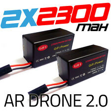 2 x 2300MaH Massive Upgrade Replacement Battery for Parrot AR Drone 2.0 Battery