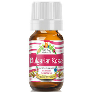 Bulgarian Rose Absolute Essential Oil (100% Pure, Natural, UNDILUTED) 10ml