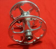 VINTAGE SPECIALIZED ROVAL HIGH FLANGE FRONT HUB 20 SPOKES SILVER