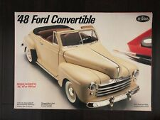 NEW Testors 1948 Ford Convertible, #379, 1/25 Scale Kit, Rare!
