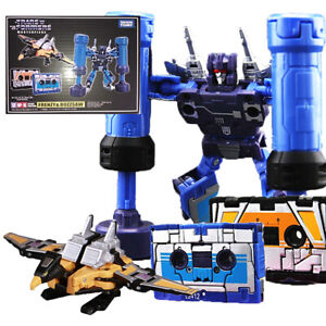 Transformers Masterpiece MP-16 MP16 FRENZY & BUZZSAW Robots Christmas Gift Toy
