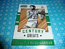 2015/16 Panini Threads Century Great Insert card 19 Kareem Abdul-Jabbar