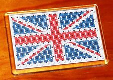 Remembrance Day Union jack flag poppy fridge magnet