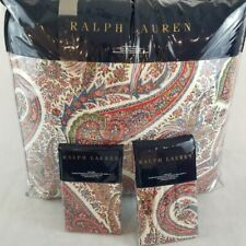 3pcs New Ralph Lauren King Comforter and Shams Set- NORWICH ROAD