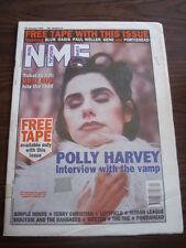 NME 1995 JANUARY 28 POLLY HARVEY SIMPLE MINDS TERRY CHRISTIAN LEFTFIELD