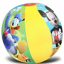 Mickey Mouse Clubhouse Inflatable Beach Ball - Kid's Disney Jr. Donald Duck
