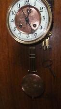 altes seltenes Uhrwerk von T. Bäuerle mit Kurzpendel für einen Regulator