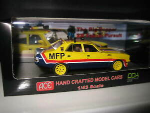 "ACE DDA 1/43 MAD MAX MOVIE CAR FORD XB FALCON PURSUIT  ""THE BIG BOPPER""  MFP 08"