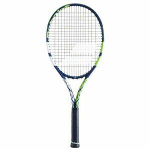 """BABOLAT Tennis Racquet Boost Drive Boost D STRUNG, Blue/Green/Wh Grip 3 (4-3/8"""")"""