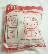 McDONALDS  New HELLO KITTY FOLDING COMB Toy MINT Jun 2016 Thailand