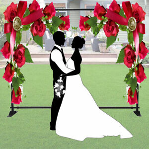 Wedding Party Background Stand Adjustable Sizing 5'x7'-8'x10' (Stand ONLY)