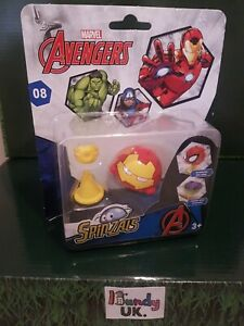 Marvel Avengers Superhero Spinzals Spinning Toy Age 3 Years+ Fun Collectable #08