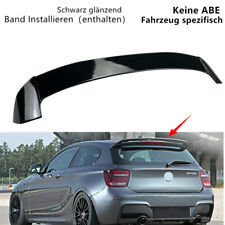 Schwarz Dachspoiler Flügel Heckspoiler Hinten Dachflügel Für BMW 1er F20 11-19