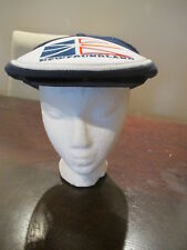 Vintage Newfoundland Gatsby Hat Flat Cap Big Flag Logo Adjustable Snapback