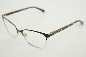 EUC! DOLCE & GABBANA DG 1268 1254 Matte Tortoise Brown/Gold 54-16-140 Eyeglasses