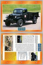 Dodge Power Wagon - 1946 - Public Works Vehicles - Atlas Trucks Maxi Card