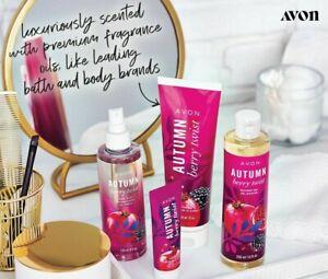 Avon Harvest Treasures Autumn Berry Twist LIMITED EDITION DISCONTINUED. CHOOSE