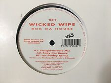 "Wicked Wipe Rok Da House Acid Techno Ian Pooley Jeff Mills 12"" Vinyl Record RARE"