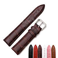 12~24mm Real Leather Wrist Watch Band For Daytona Submariner Tudor GMT Omega