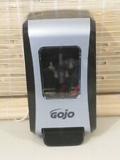 GOJO MANUAL PUMP HAND SOAP DISPENSER BLACK GRAY NEW OPEN BOX