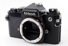 """Excellent+++++"" Nikon FE Black SLR 35mm Film Camera from Japan #1213"
