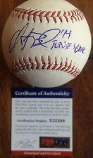 "Christian Binford Auto Signed MLB Baseball Inscribed ""Futures Game"" COA PSA DNA"