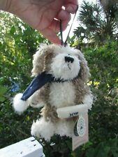 """Boyds Bear + Dog + Biscuit B. Beggar Ornament 7"""" Tall Joy Pillow"""