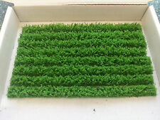 8 light N Gauge Hedging Strips Dioramas/ Scenery. Total length 40 Inches !!!!