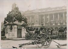 PARIS c. 1930 - Document Historique Canons Militaires Armistice 1918 - PRM 228