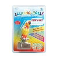 Talking Polly - Parrot Voice Repeats Toy Gift