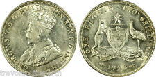 1923 Australian  Florin.  PCGS AU55 - A top coin and rare in this grade. An 8 <>