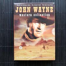 JOHN WAYNE WESTERN COLLECTION - BOXSET - 3 DVD