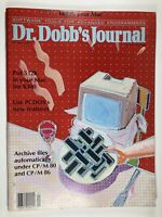 Vintage Magazine, Dr Dobb's Journal January 1985 Computer PC Excellent Condition