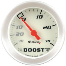 "Equus Boost/Vacuum Gauge 8257; 8000 Series 30 inHg to 30 psi 2-1/16"" Mechanical"