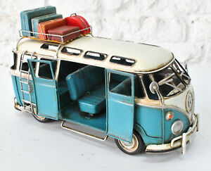 Tin toy Iron Crafts Classics Retro GT-FZ52 Bus office home decoration DEAL SALE