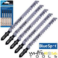 BlueSpot Seghetto Taglio Lame 5 Pezzi Veloce per Legno 6 Filettatura T101D
