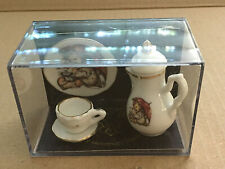 Reutter Porzellan Germany Miniature Tea Set Dollhouse
