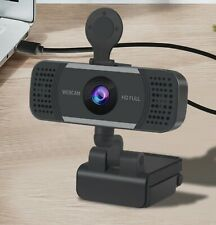 Webcam avec Microphone HD 1920x1080 4K Caméra Smart Working Zoom SkypeChambre