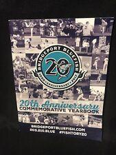 2017 Bridgeport  BLUEFISH MINOR LEAGUE BASEBALL Yearbook Final  SEASON