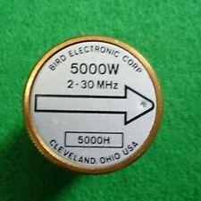 Bird 43 Thruline Watt Meter Element Slug 5000W 5000H 2-30 MHz